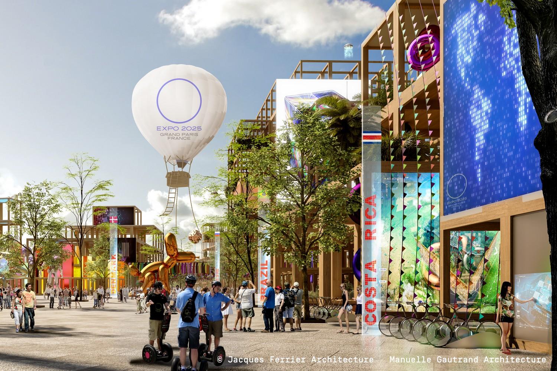 Expo France 2025, vue d'une allée