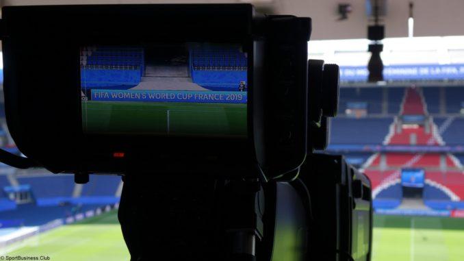 caméra tv football psg