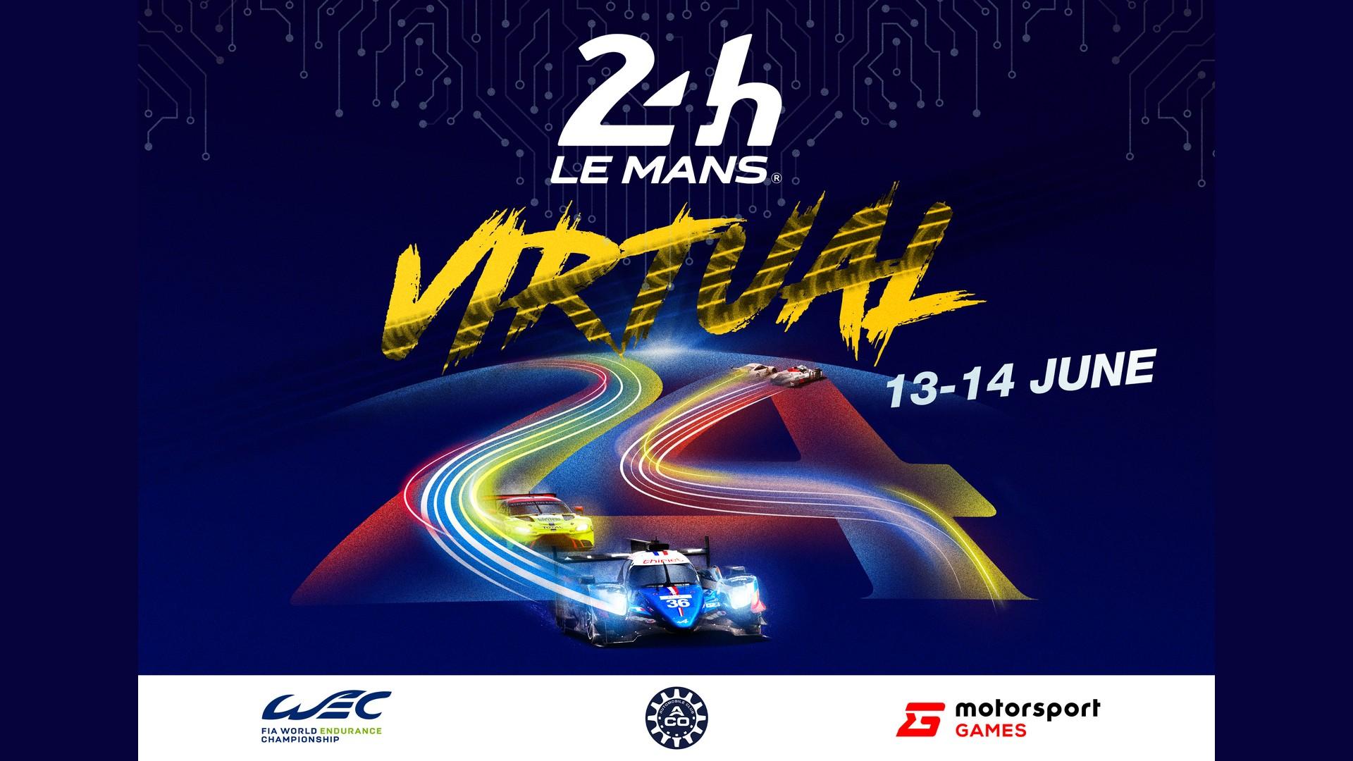 24 Heures du Mans Virtuelles 2020 (1) Affiche