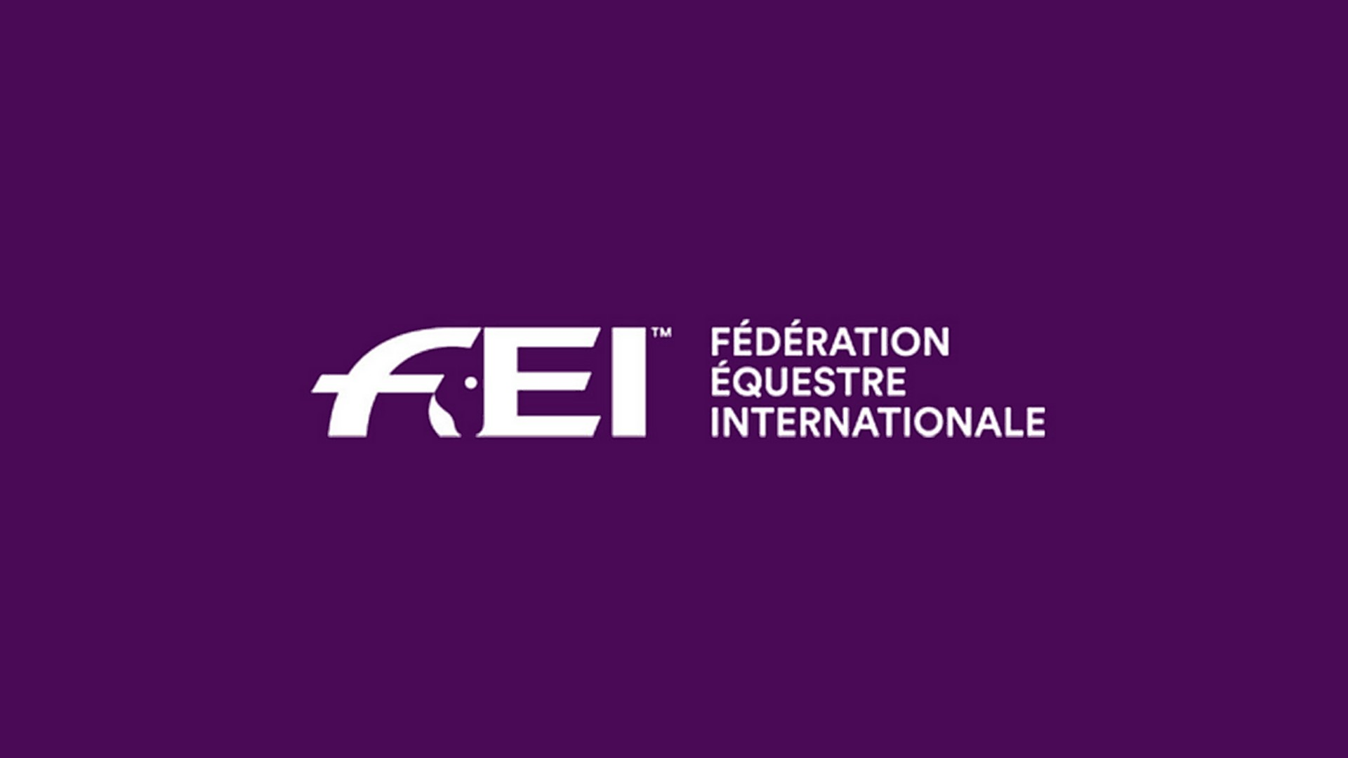 FEI Fédération Equestre Internationale (3) Logo