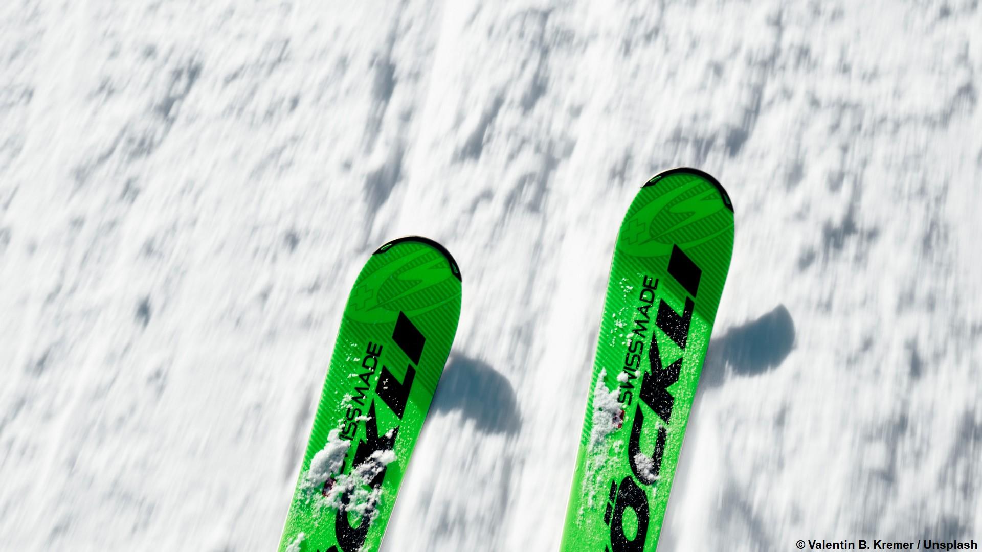 Ski (générique) (c) Valentin B. Kremer Unsplash