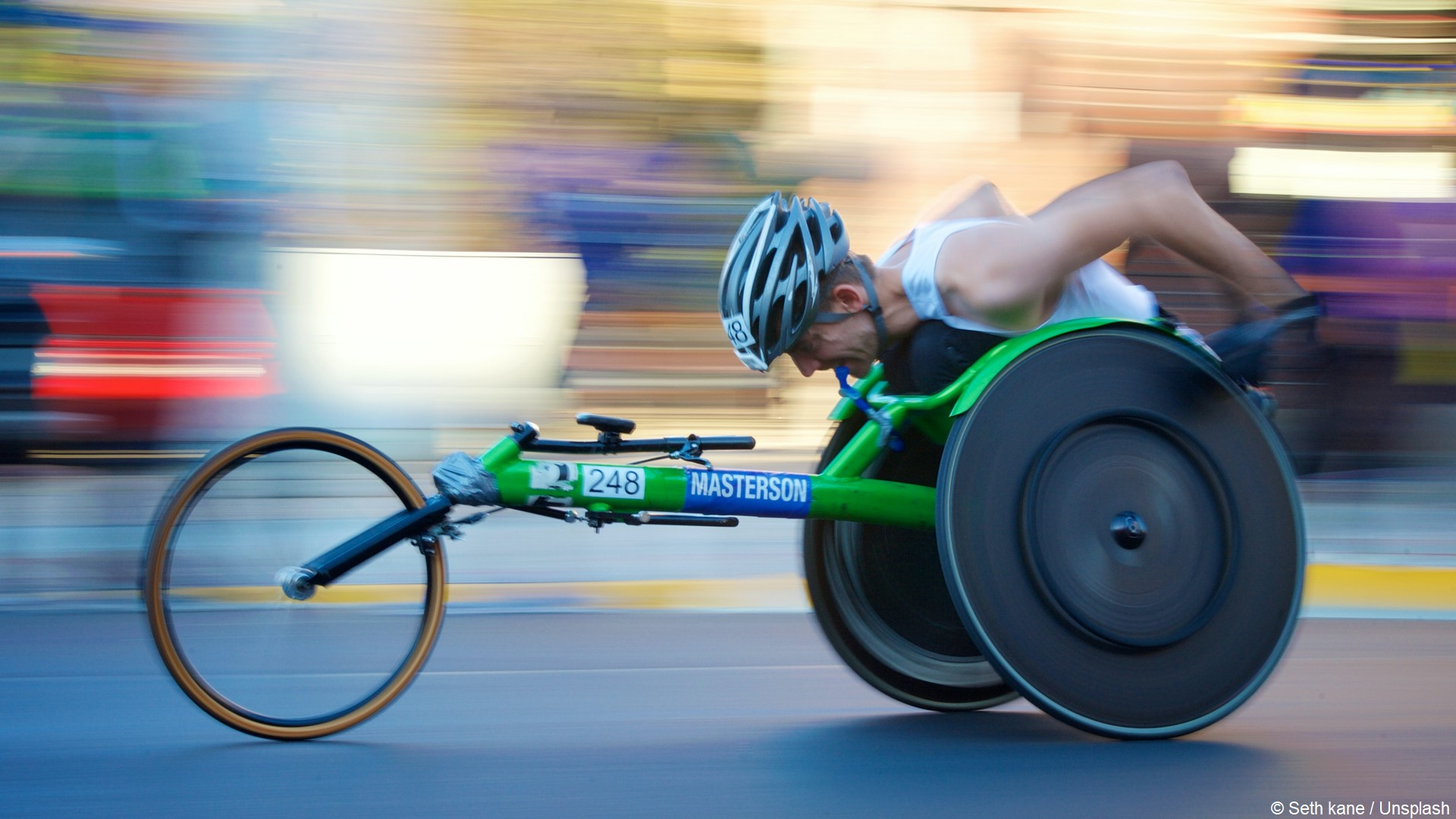 Wheelchair handisport (c) Seth kane Unsplash