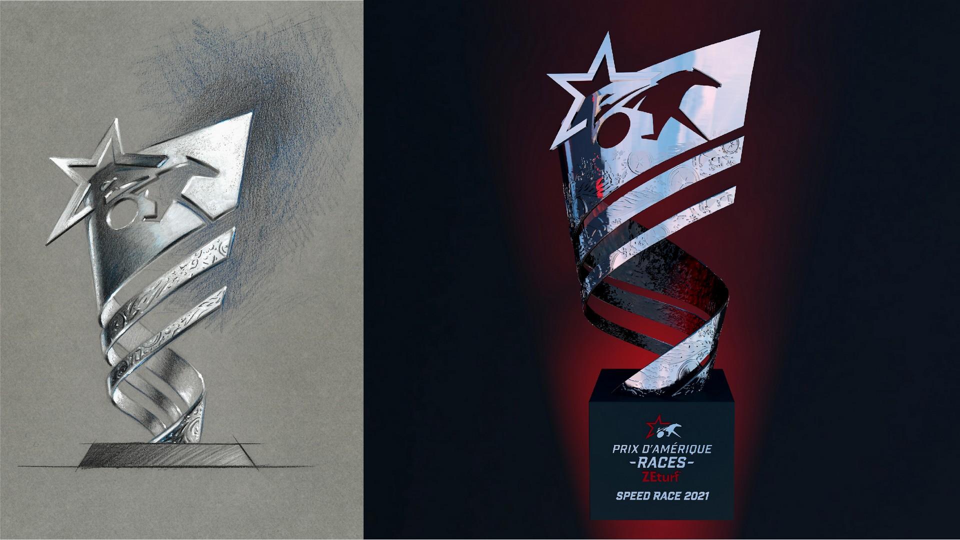 Prix d'Amérique (2) trophée