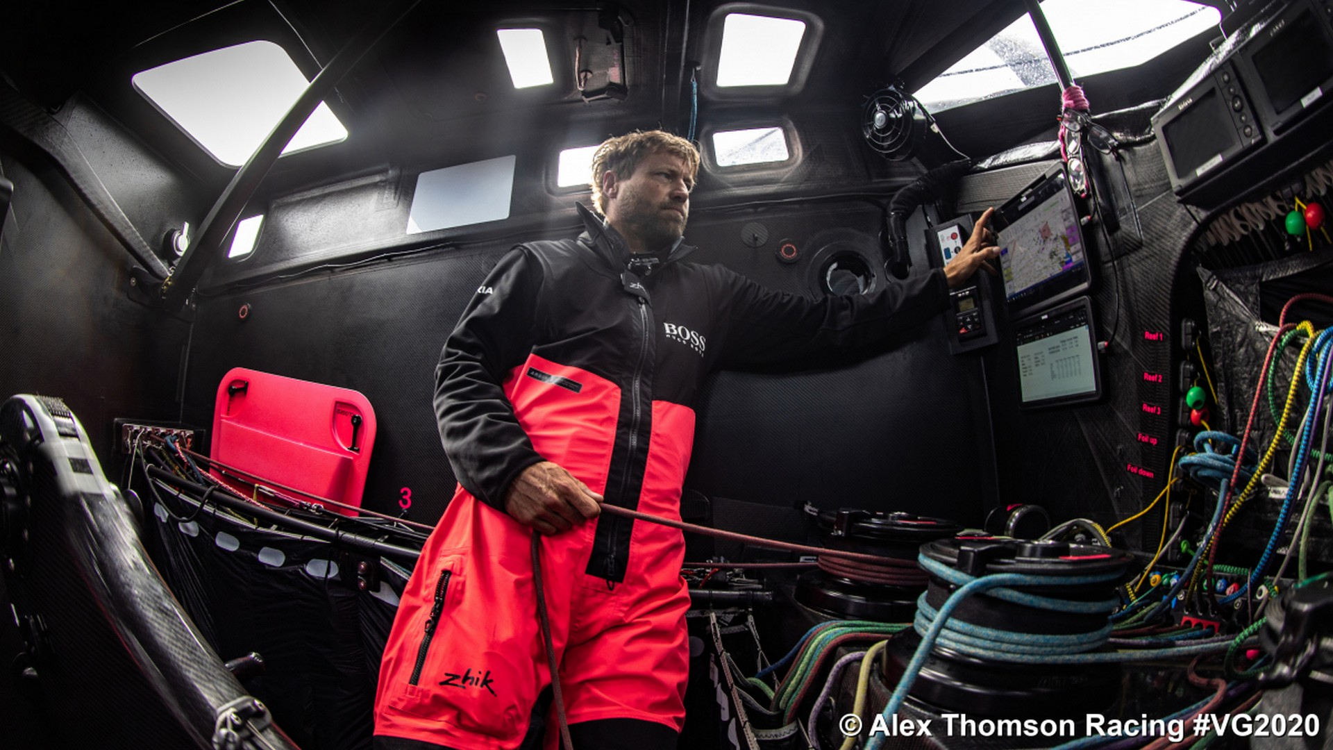 Alex Thomson (2) Hugo Boss