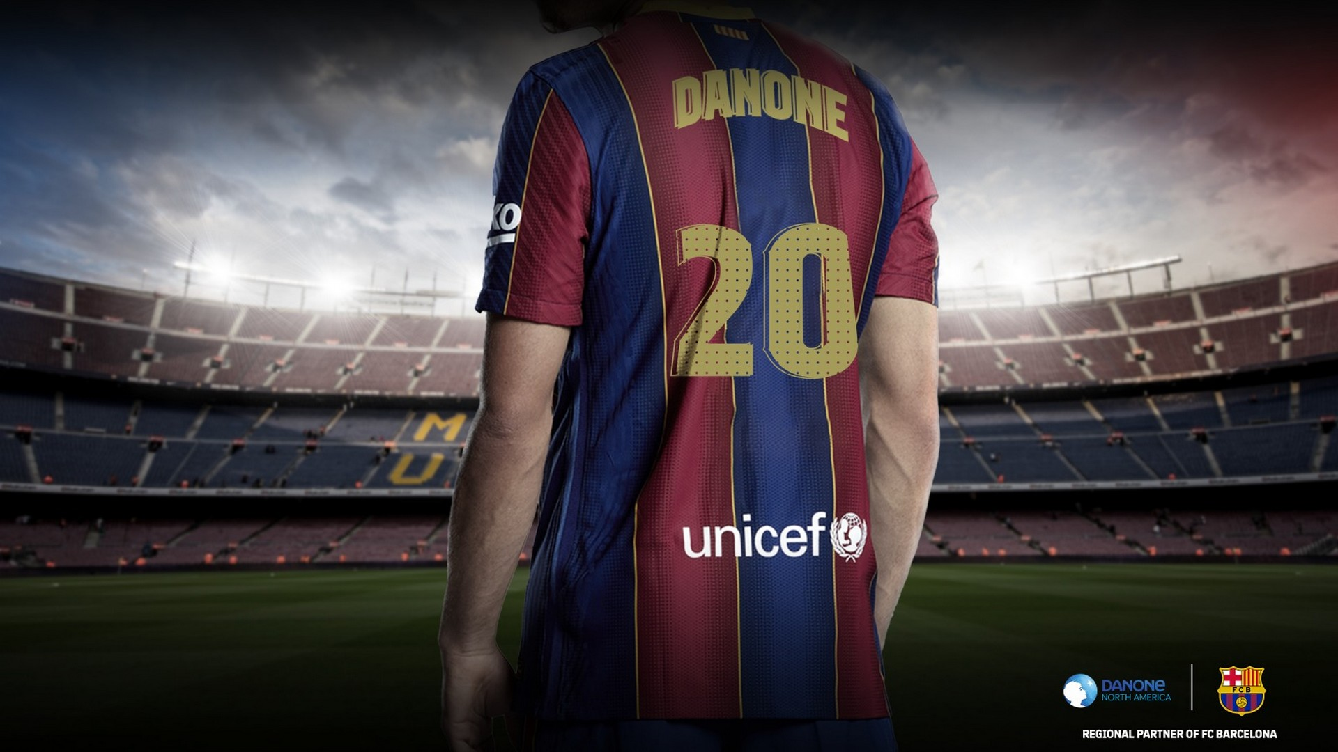Danone x FC Barcelone (football) 2020