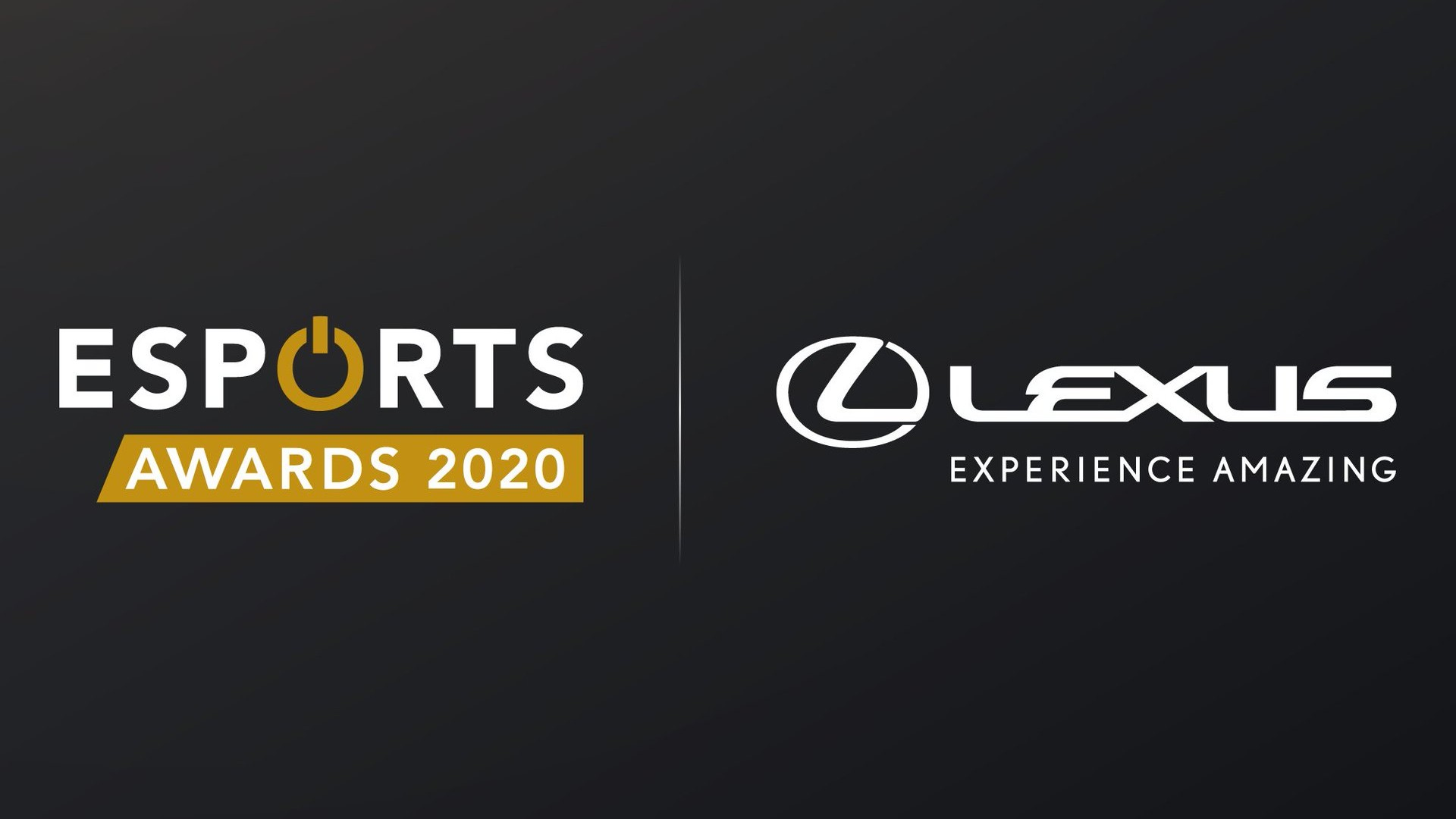 Lexus x Esports Awards 2020