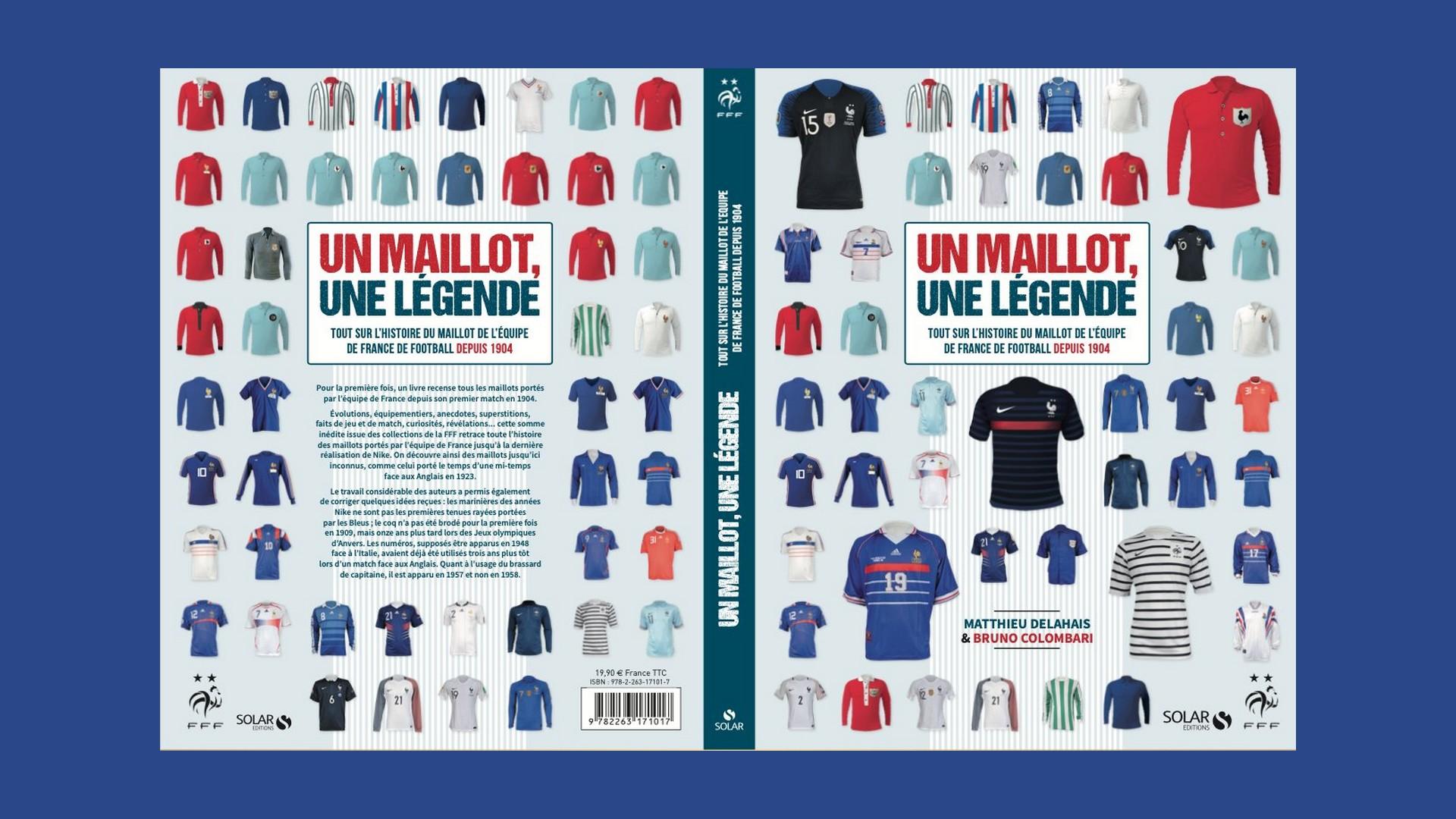 Livres – Un maillot une légende – Mathieu Delahais (2020)