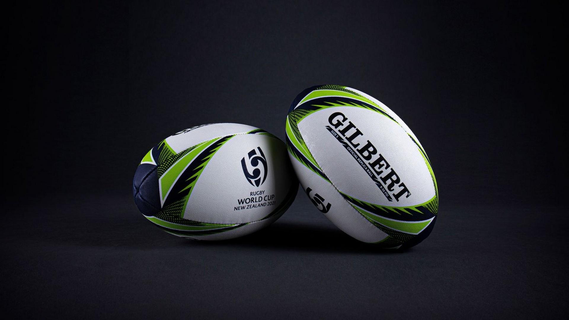 NZL 2021 RWC féminine (1) Ballon Gilbert