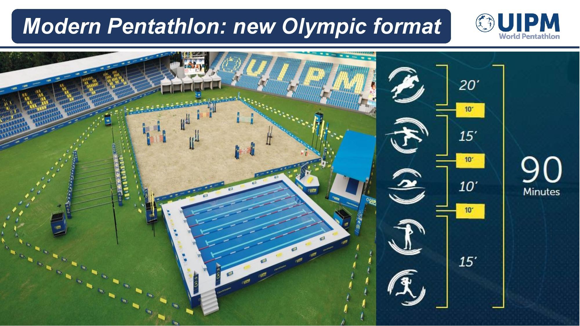 Pentathlon moderne (3) Stade