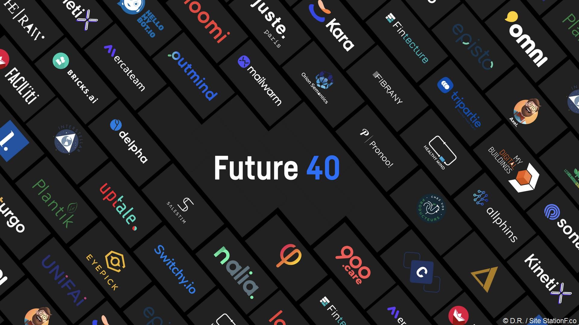 Station F – Future 40 (1) Logo
