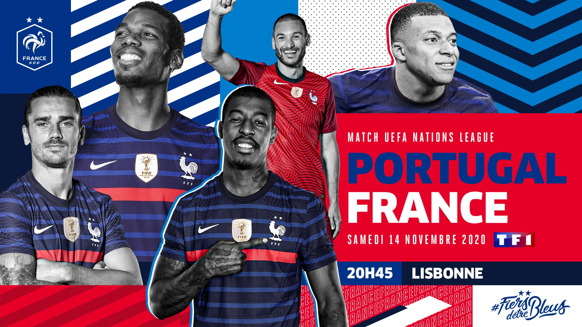 TF1 Portugal France Football