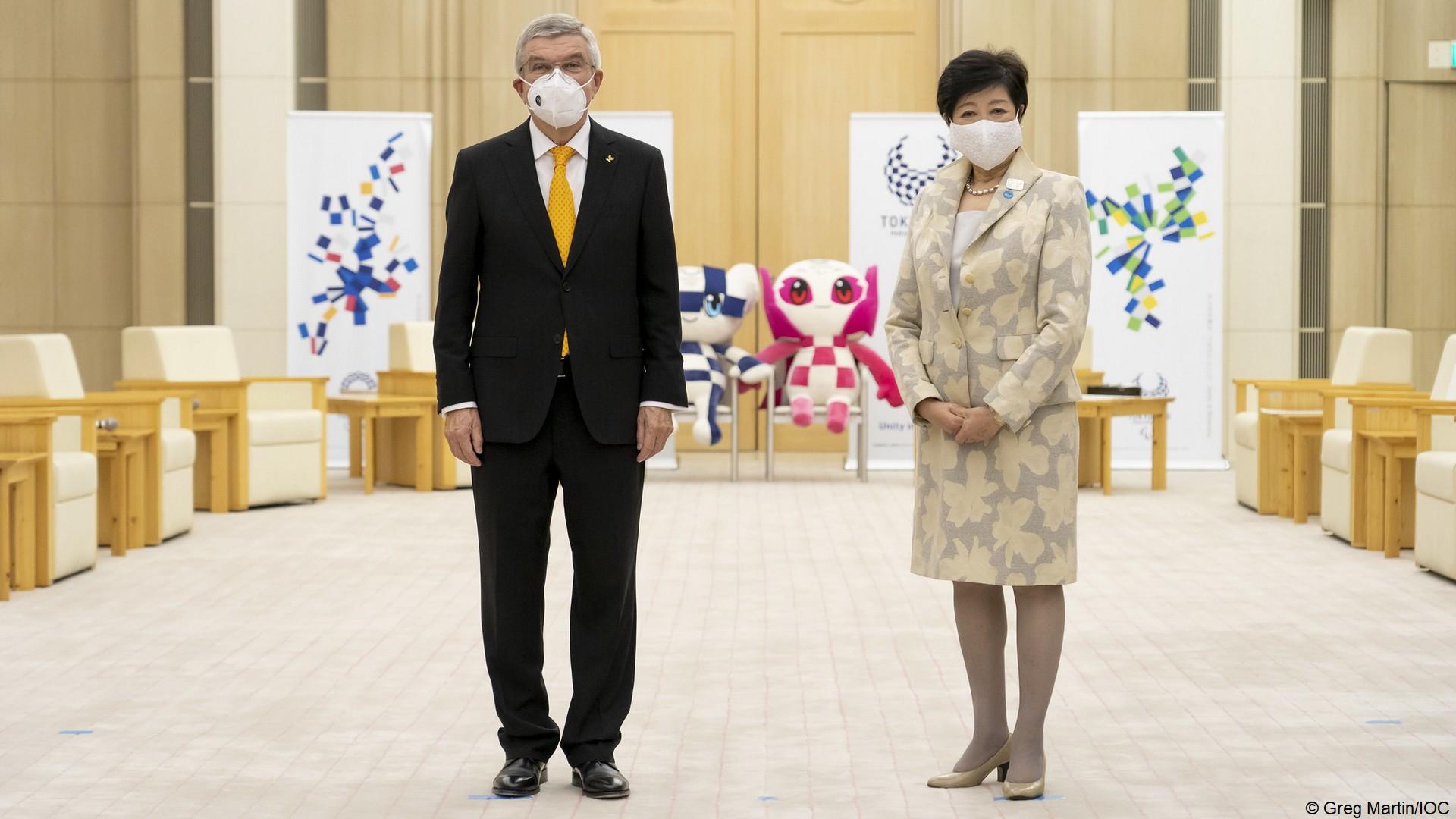 Tokyo 2020 – Thomas Bach Yuriko Koike
