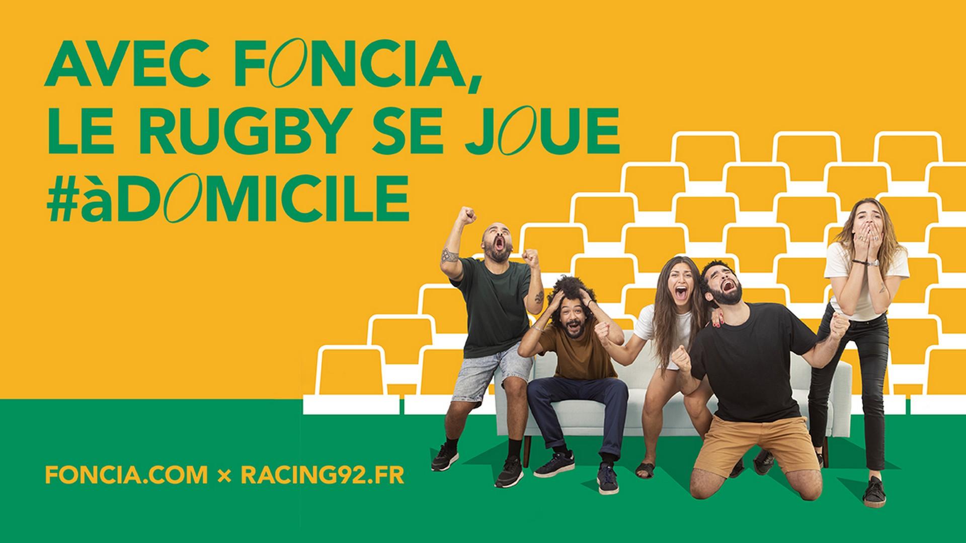 Foncia x Racing 92 (Rgby) 2020