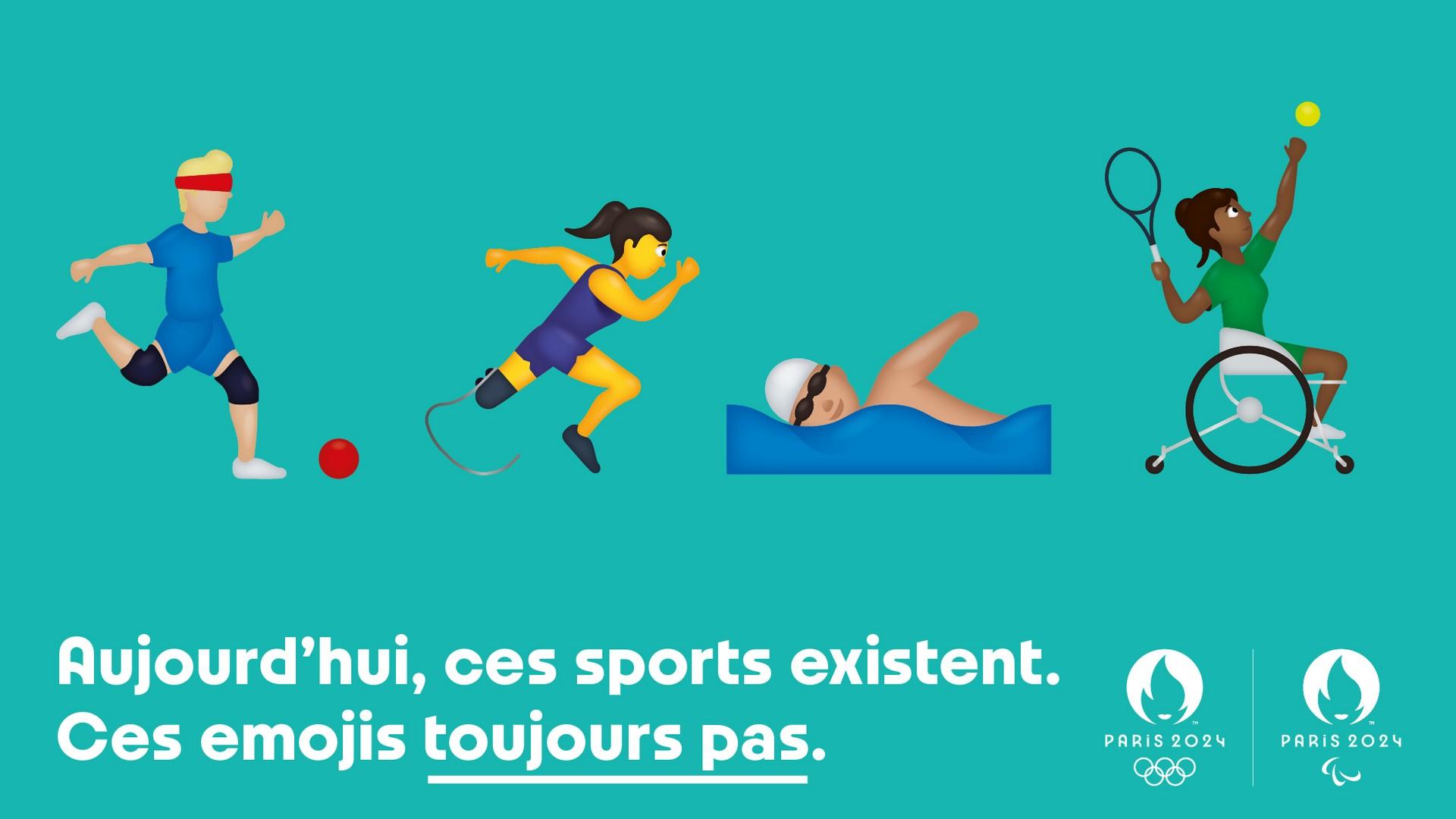 Paris 2024 – Emojis paralympiques