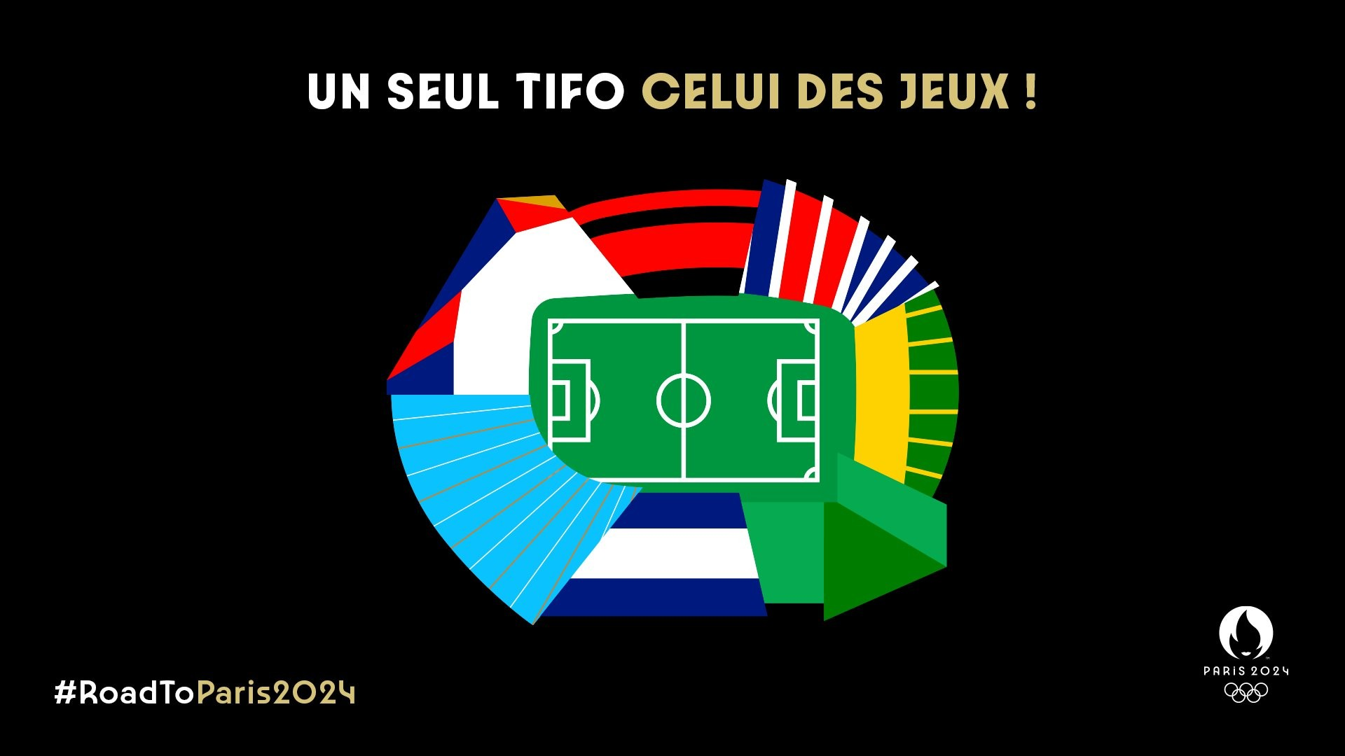 Paris 2024 Football logo