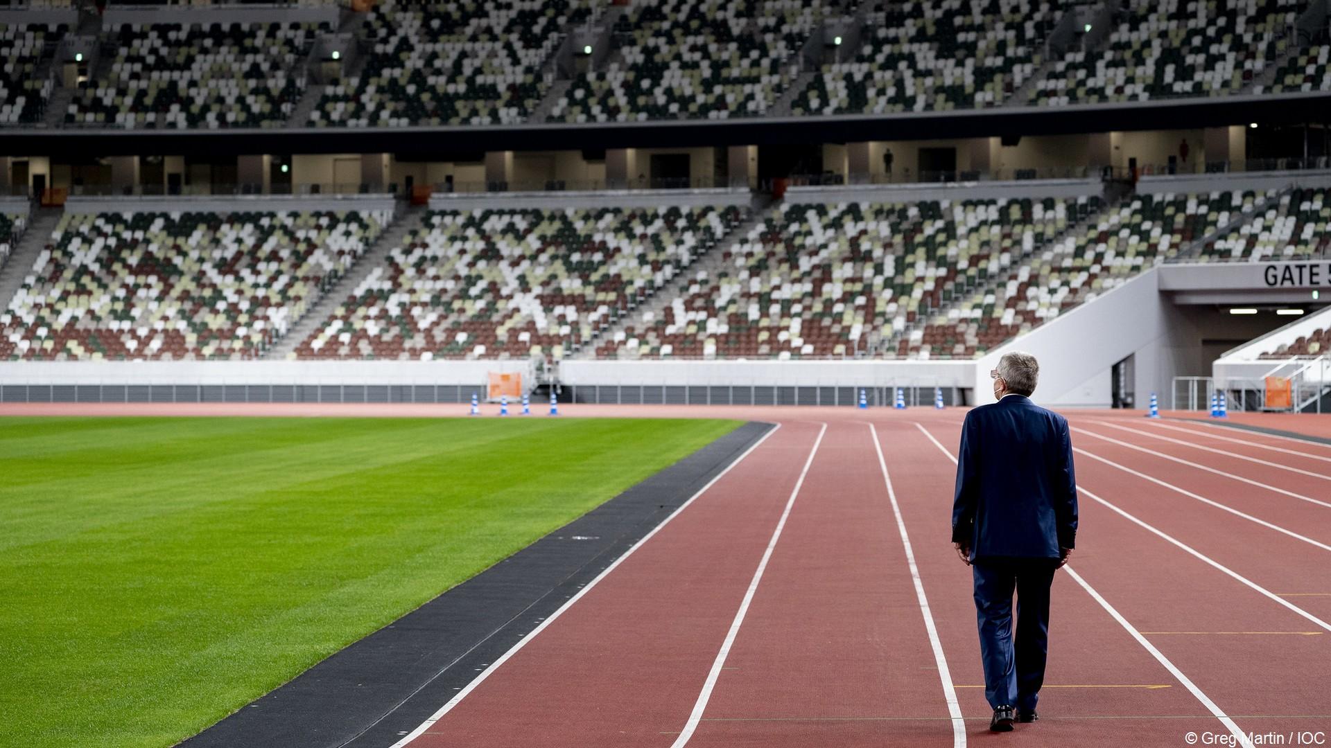 Tokyo 2020 – Thomas Bach Stade olympique