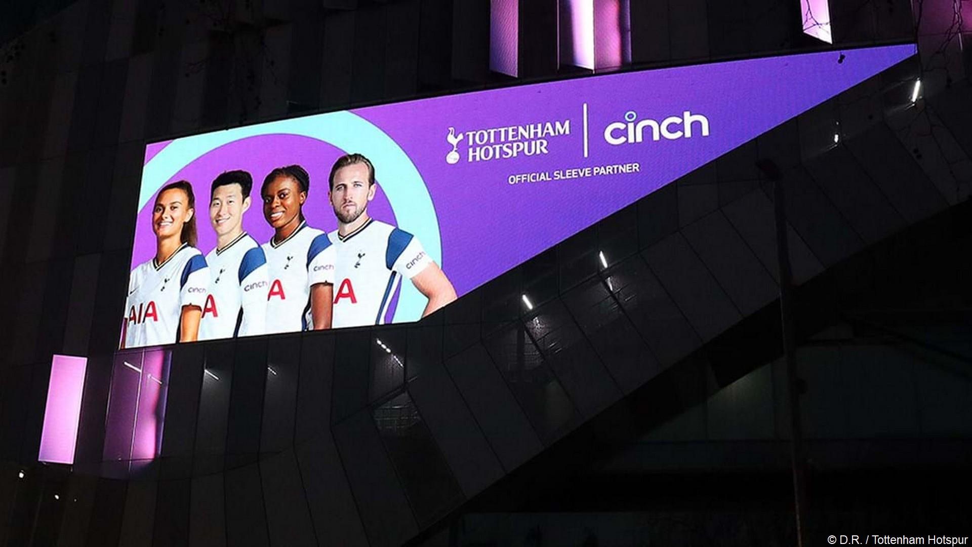 Cinch x Tottenham (football) 2021