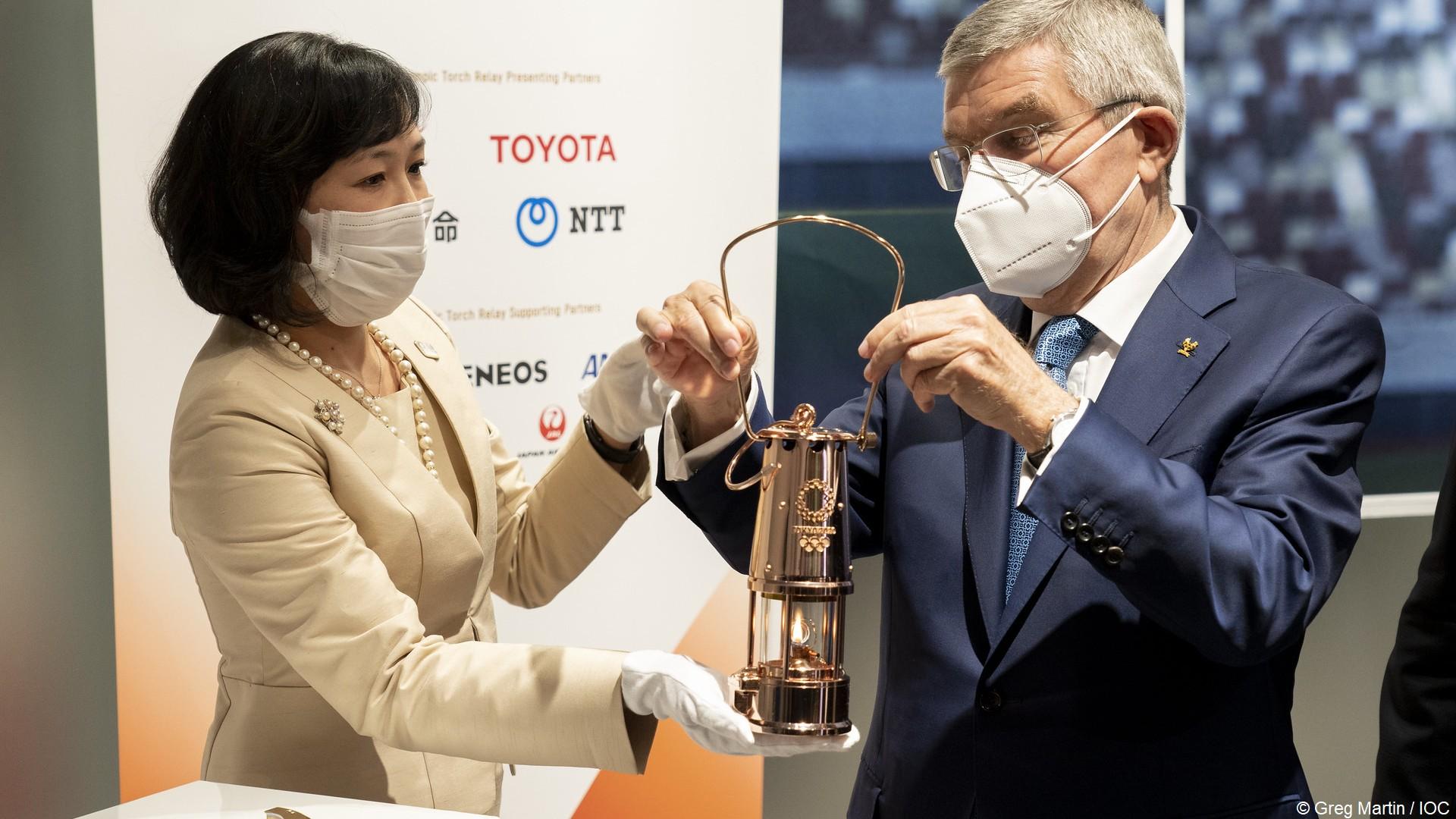 Flamme olympique Tokyo 2020 (4) (c) CIO