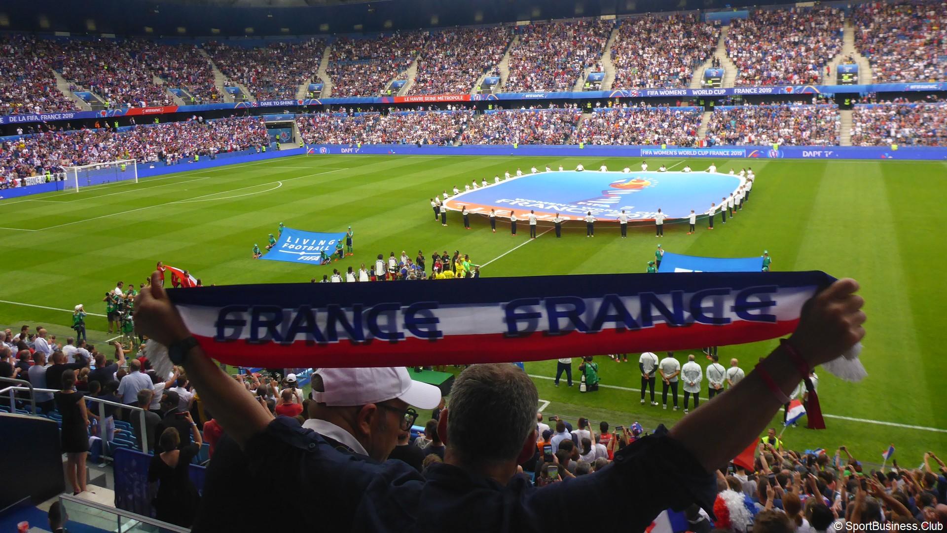 France 2019 Supporters (1) France Brésil