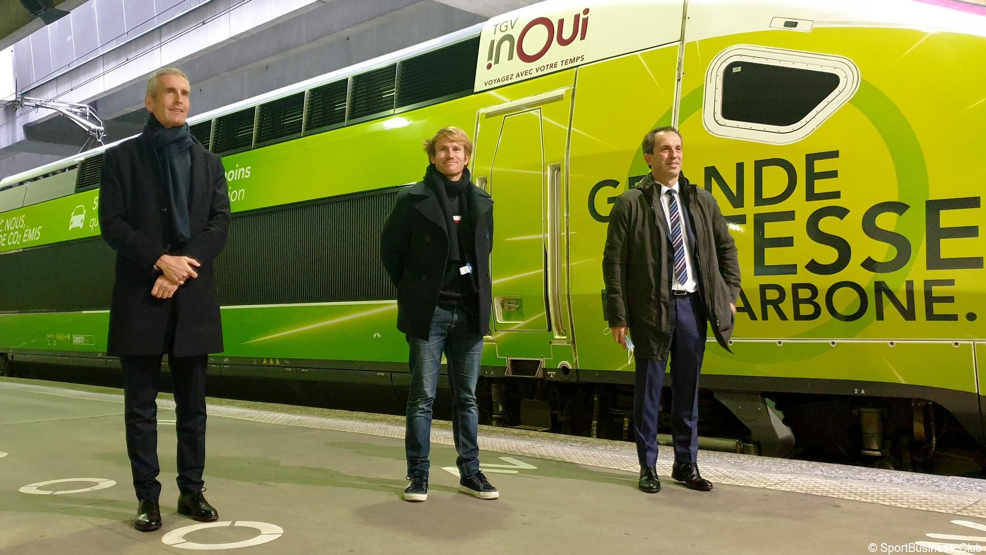 François Gabart Voile (2) SNCF