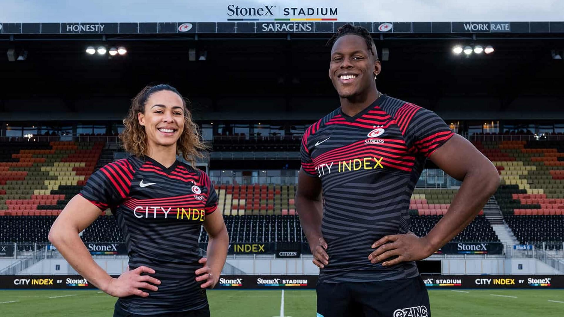StoneX x Saracens (rugby) 2021