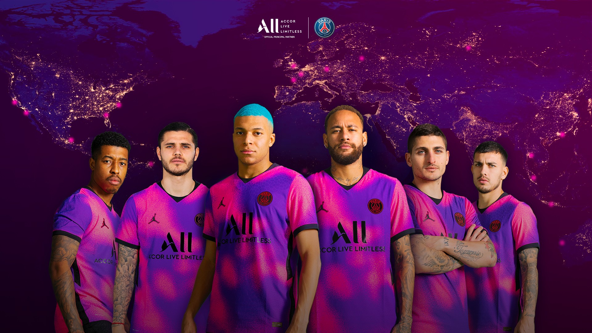 Accor x Paris Saint Germain (football) Opé theALLjourney 2021