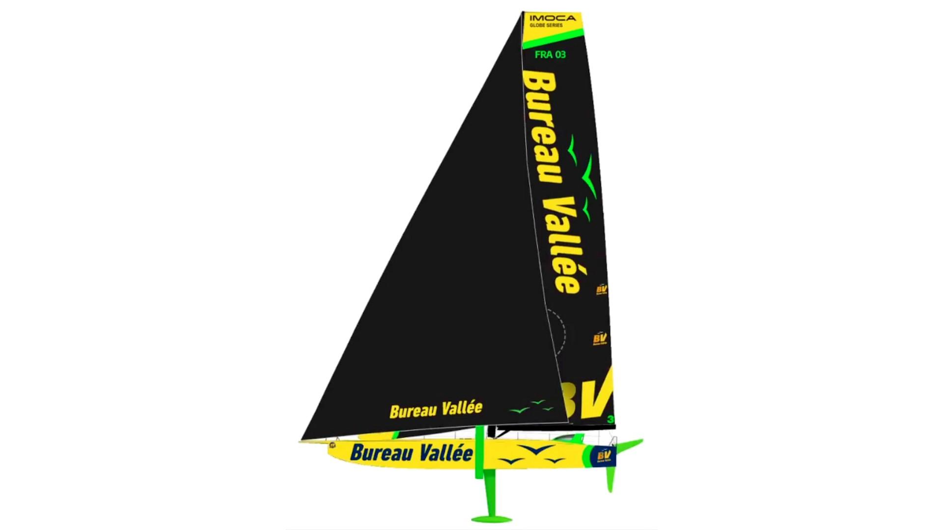 Bureau Vallée Voile (1) Nouveau bateau BV3