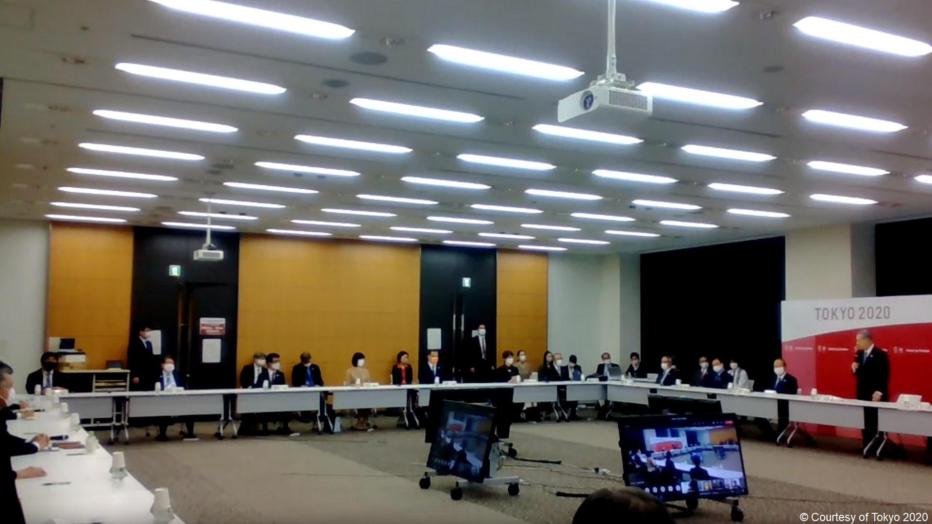 Comité exécutif Tokyo 2020 Yoshiro Mori