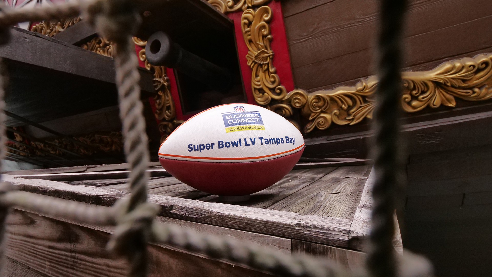 Foot US – Superbowl LV 2021 (3) ballon Tampa