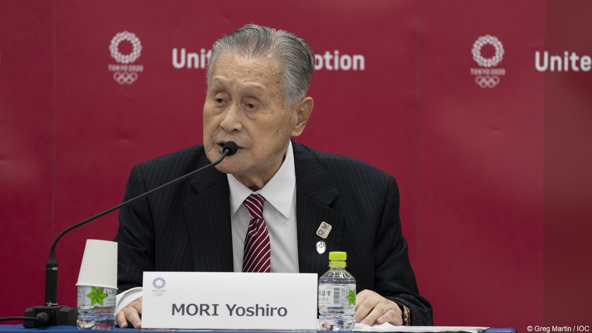Mori Yoshiro (1) Tokyo 2020