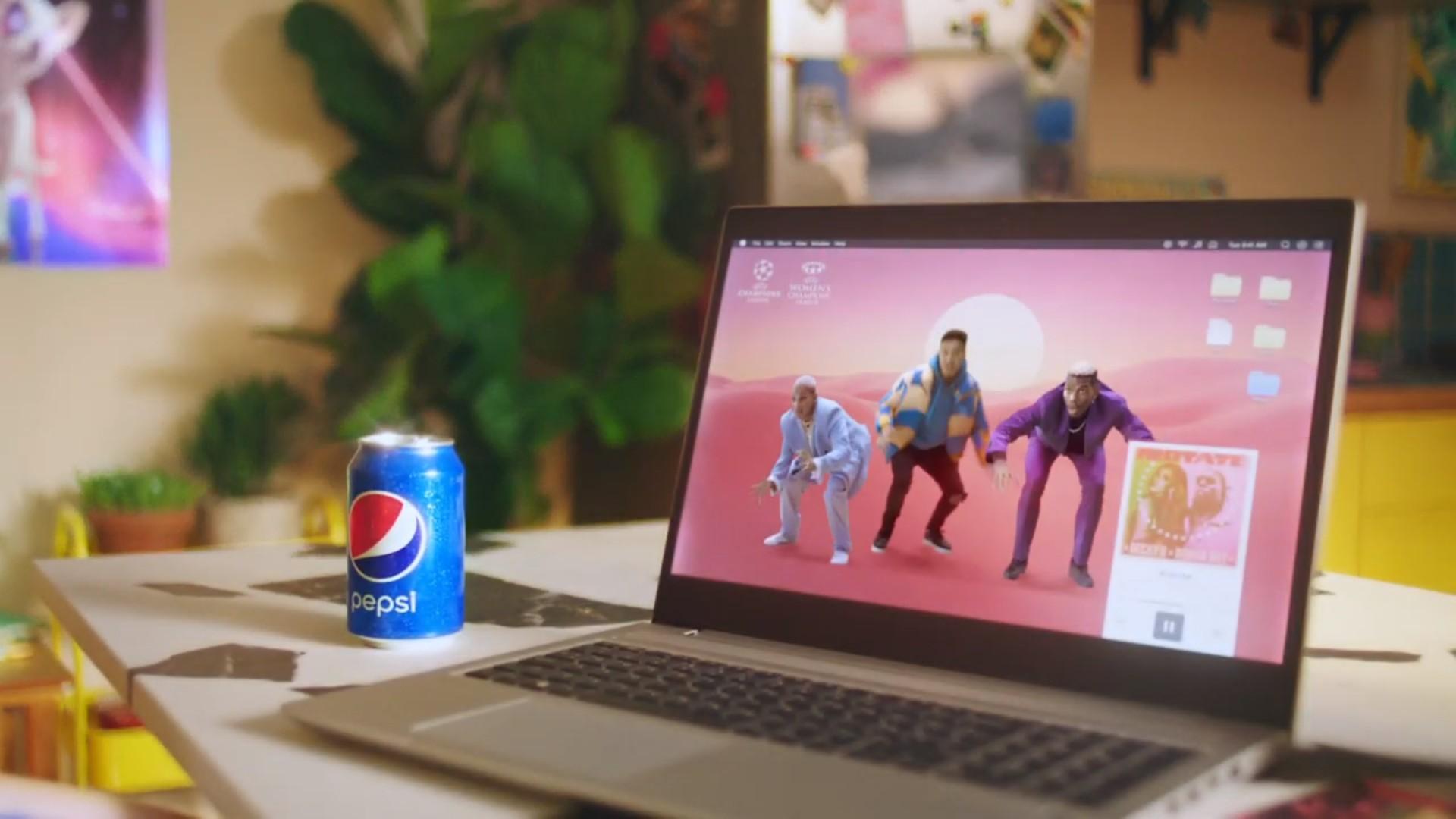 Pepsi x Paul Pogba Fizz To Live (football) 2021