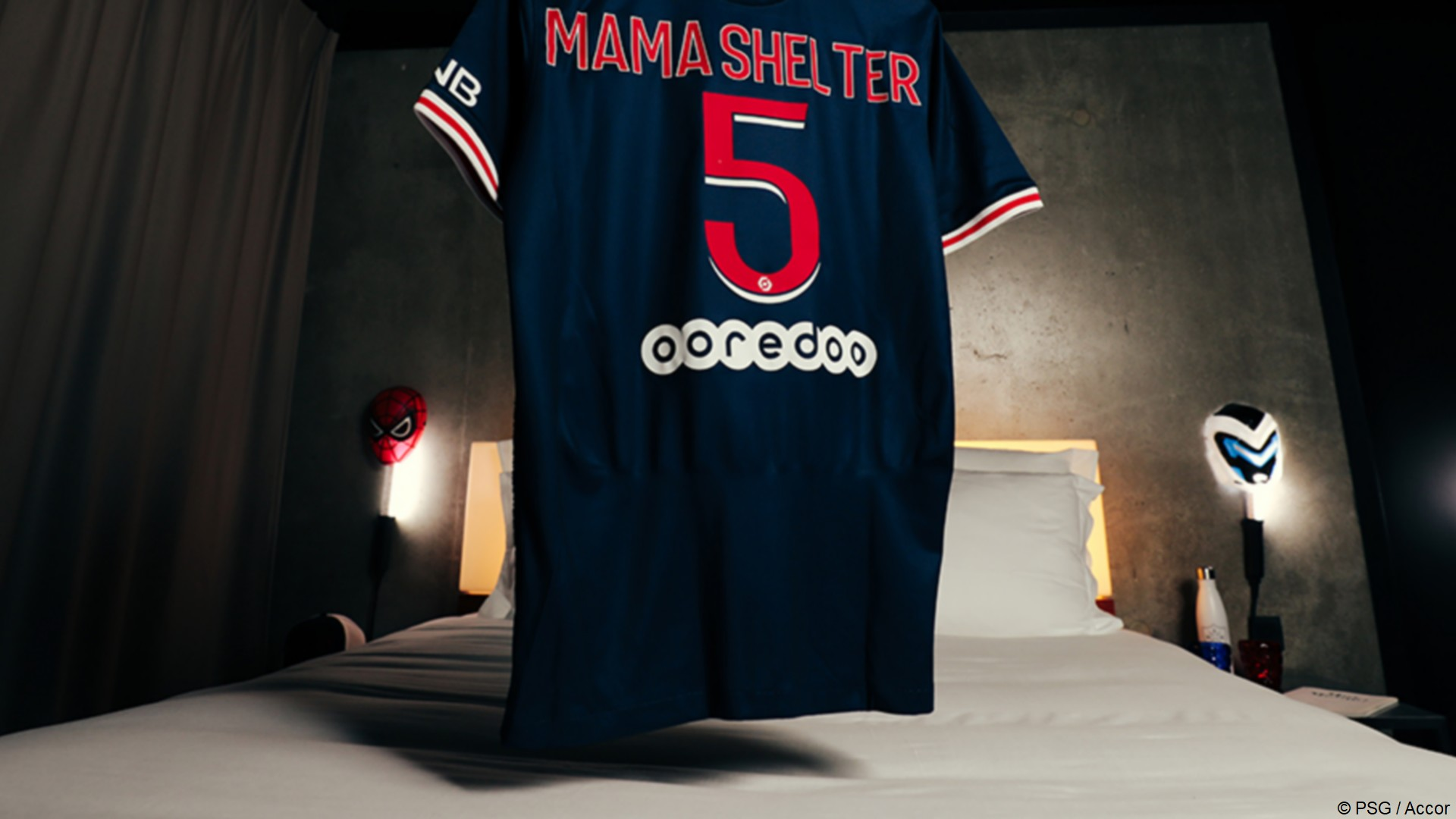 Accor Mama Shelter x PSG (football) 2021