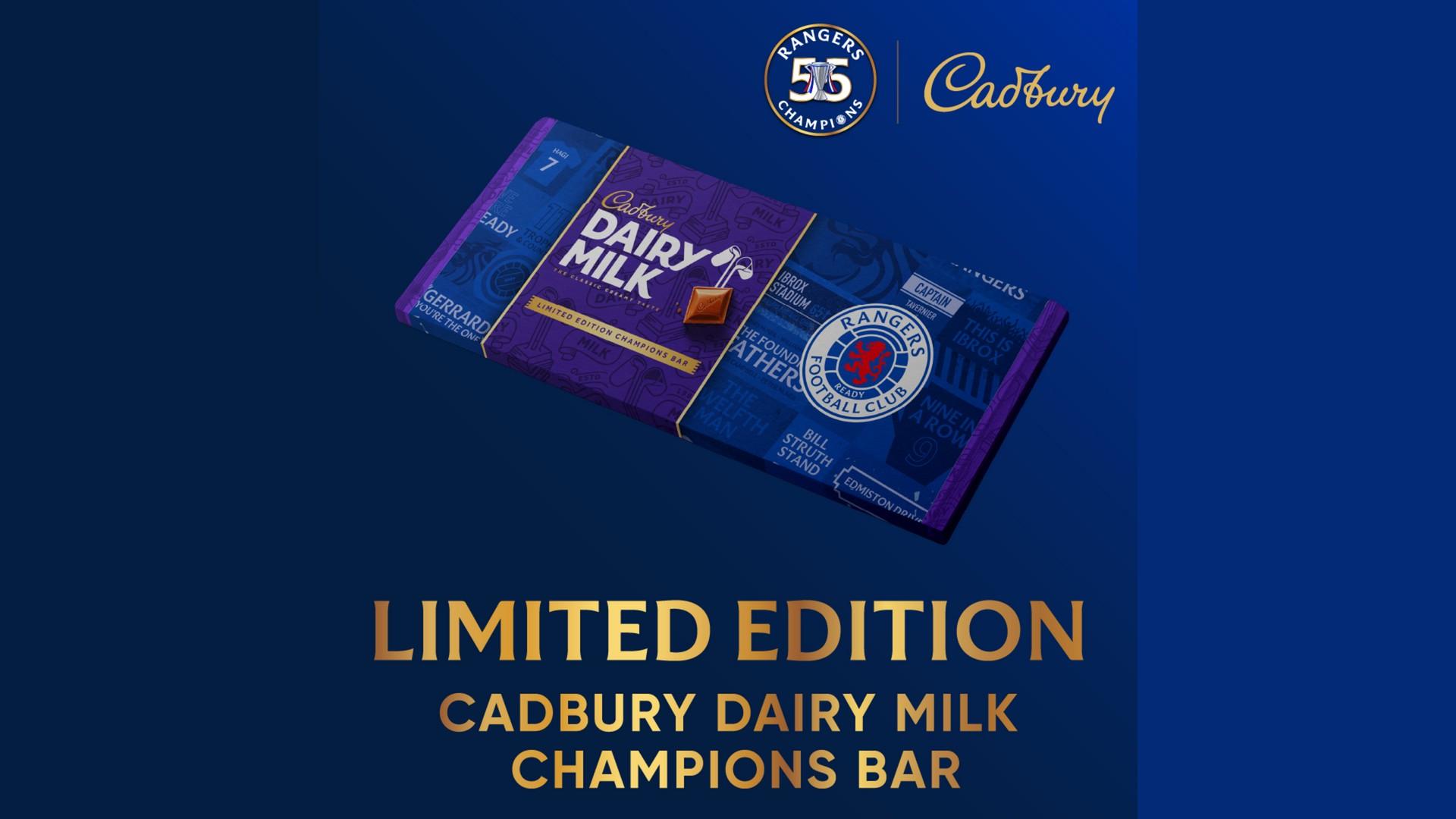 Cadbury x Glasgow Rangers (football) 2021