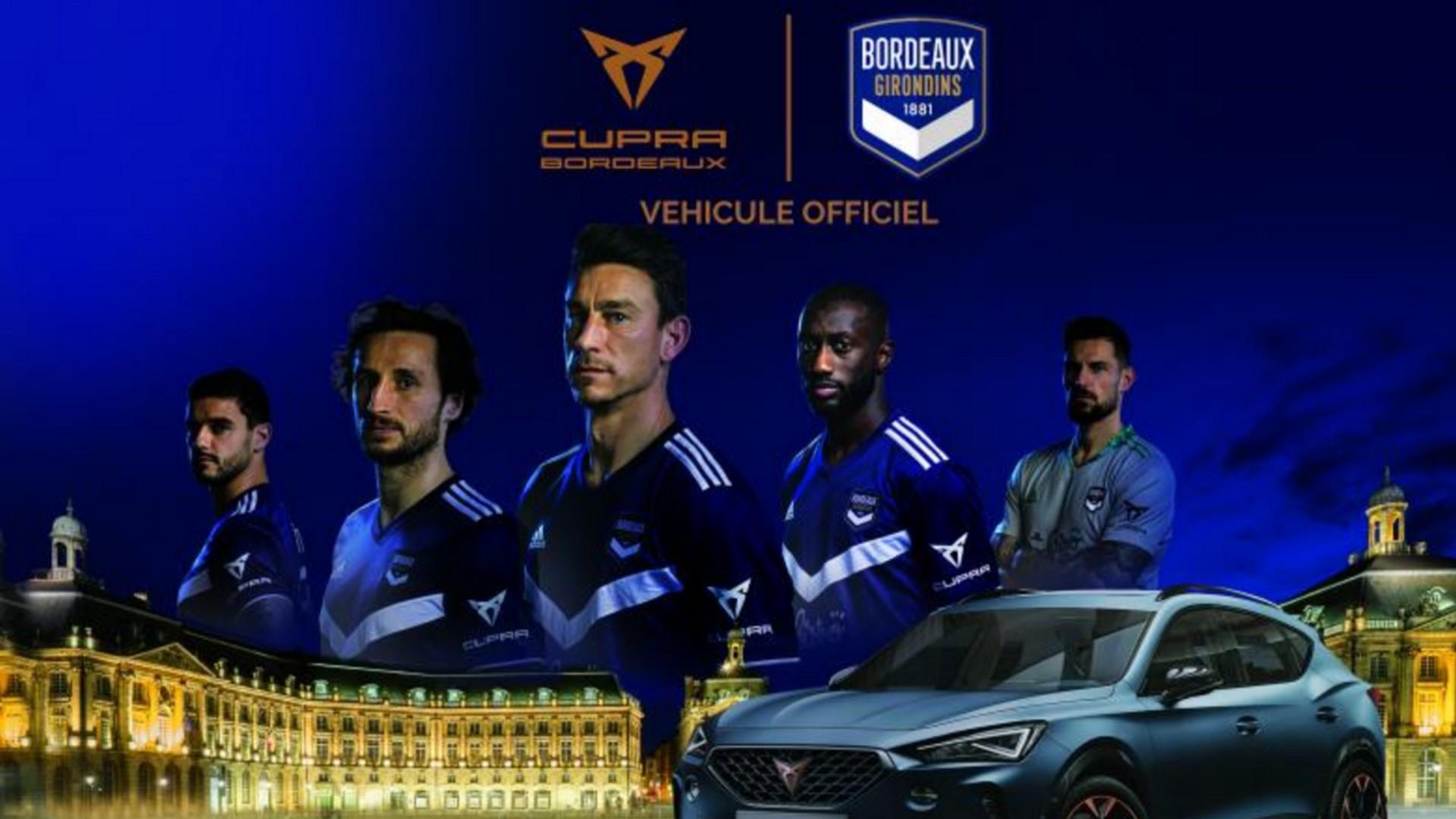 Cupra x Girondins (football) 2021