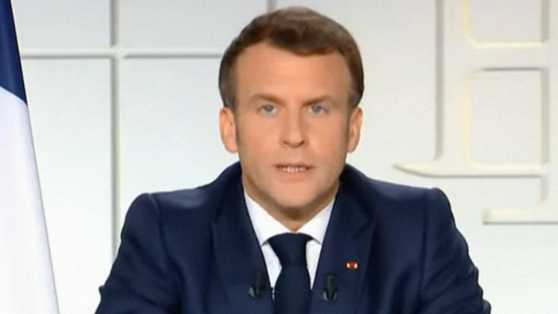 Emmanuel Macron – Allocution 31 mars 2021