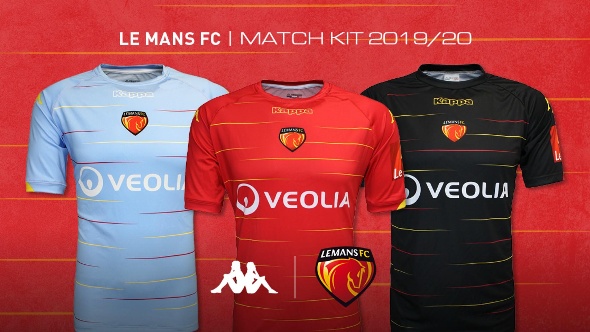 Kappa x Le Mans FC (football) 2021