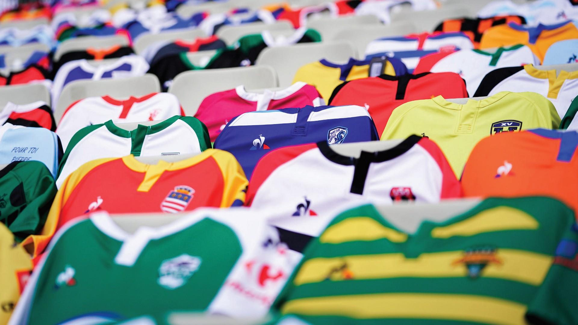 Le Coq Sportif x FFR (rugby) opération maillots Stade de France 2021
