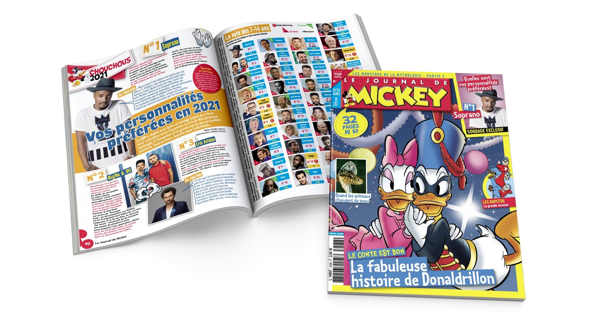Le Journal de Mickey 23 mars 2021