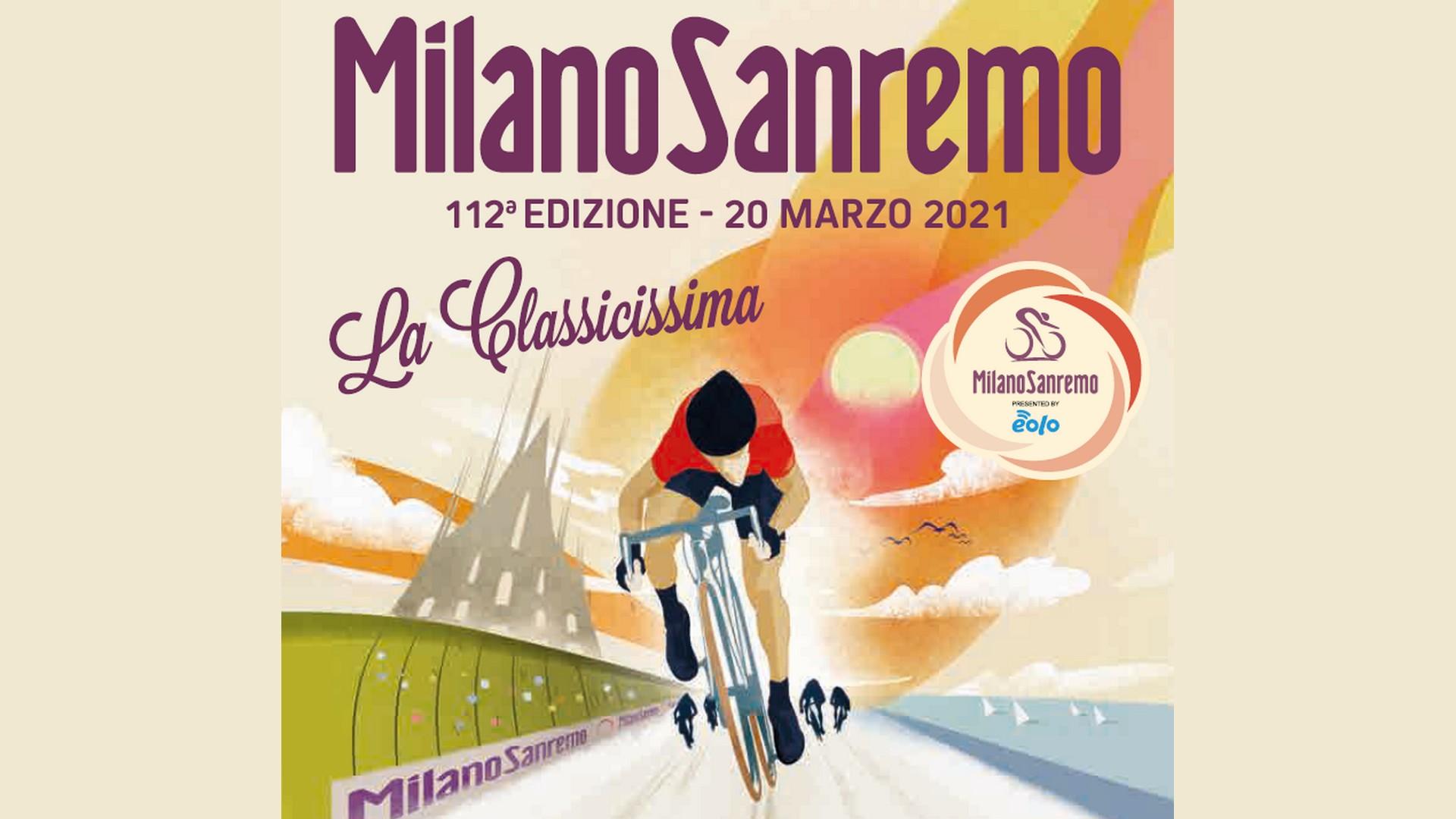 Milan-Sanremo (1) Affiche 2021