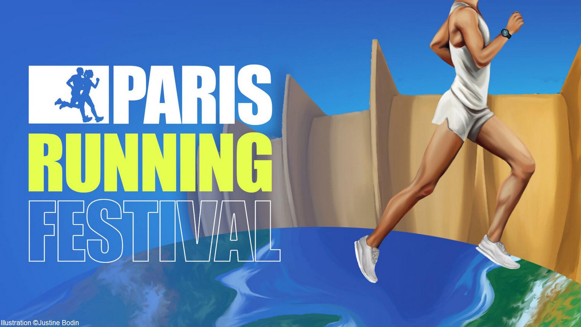 Paris Running Festival (2) Illustration (c) Justine Bodin