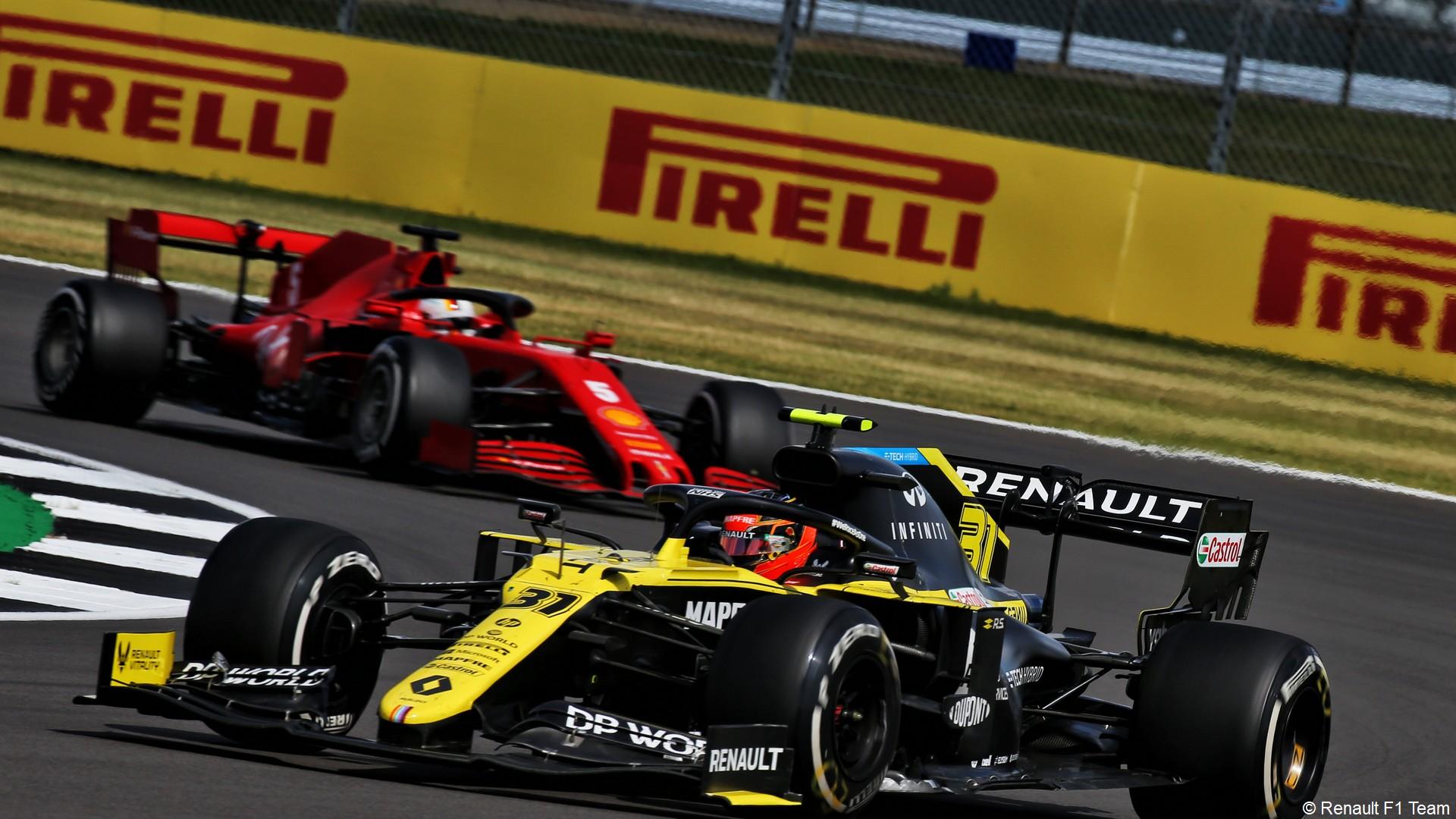 Pirelli x F1 2020 (sport auto) Renault F1