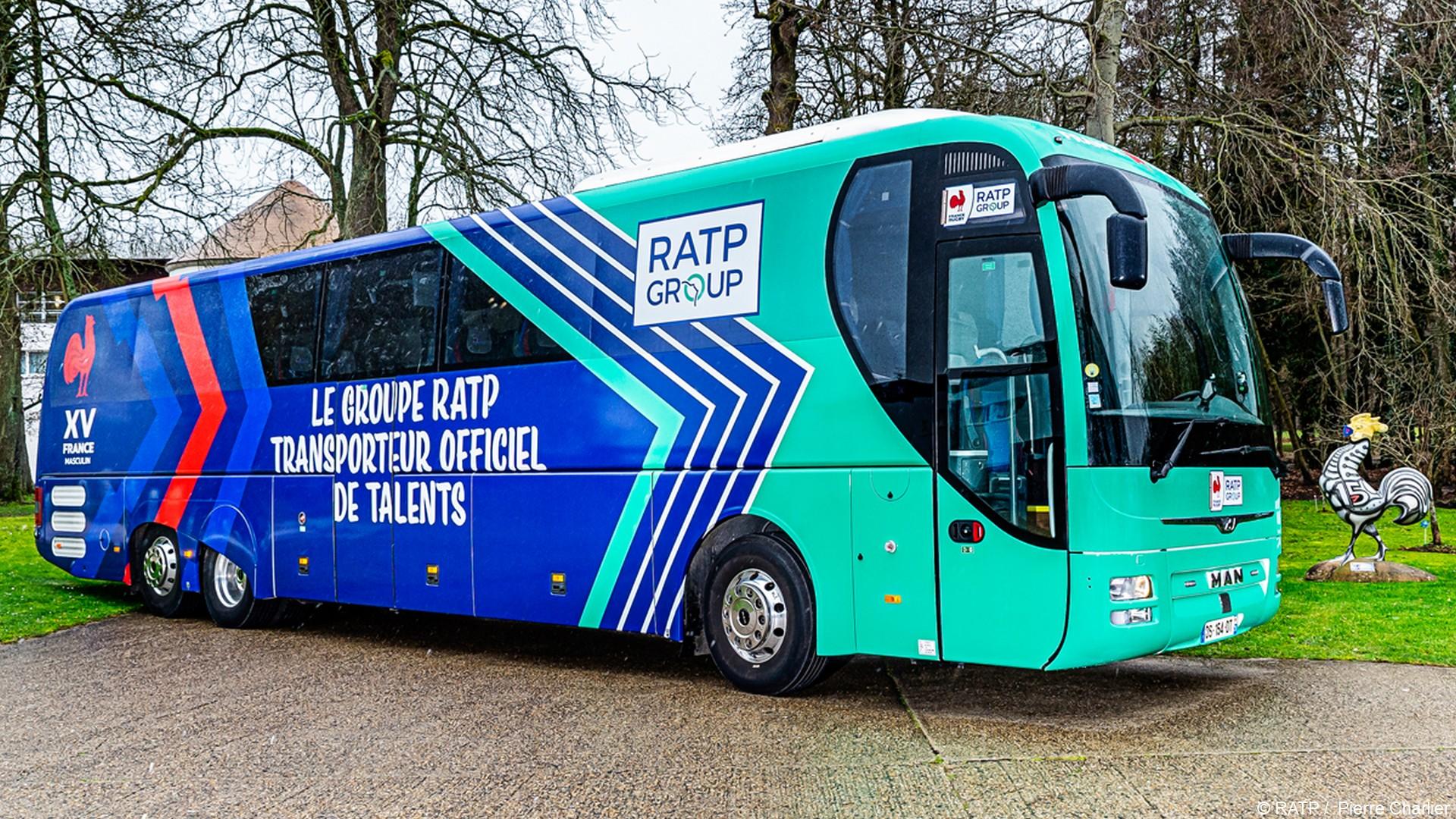 RATP x FF Rugby (rugby) car 2021