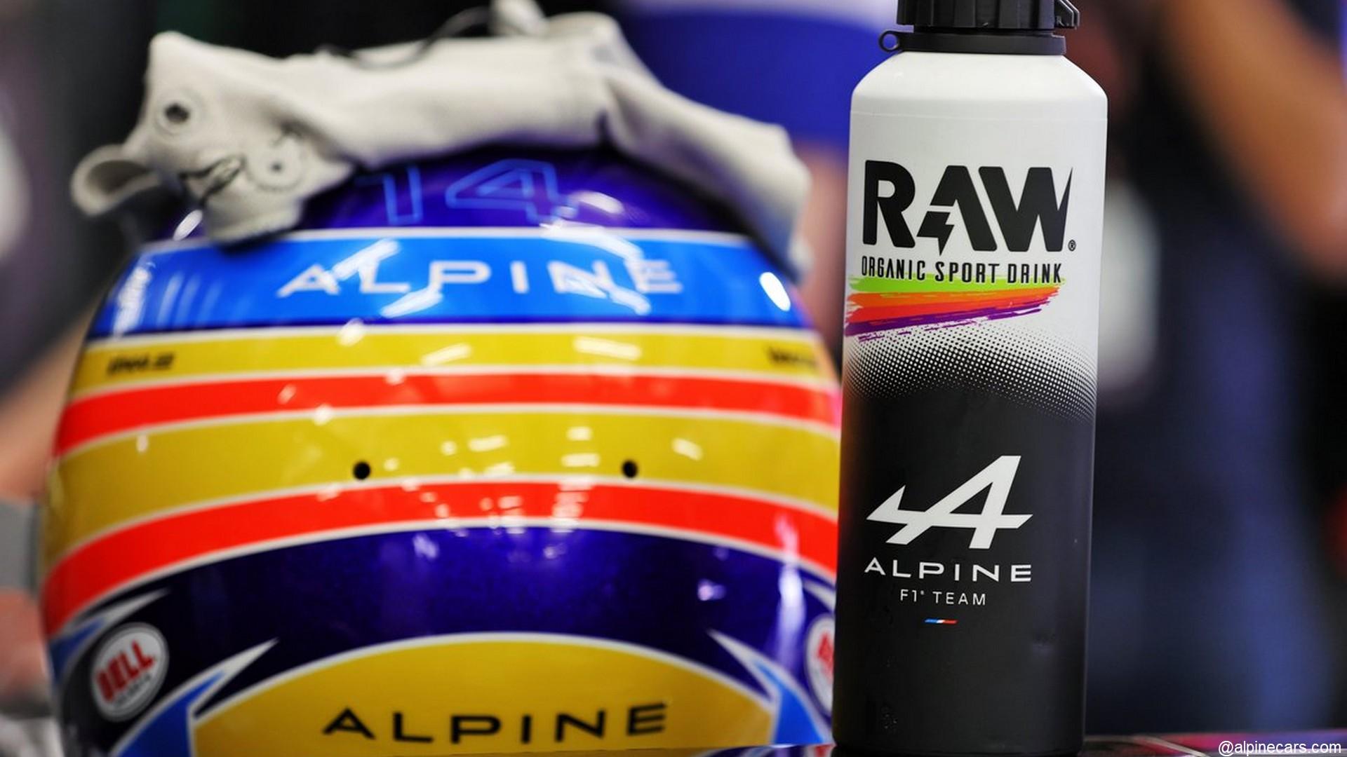 Raw x Alpine F1 Team (Formule 1) 2021