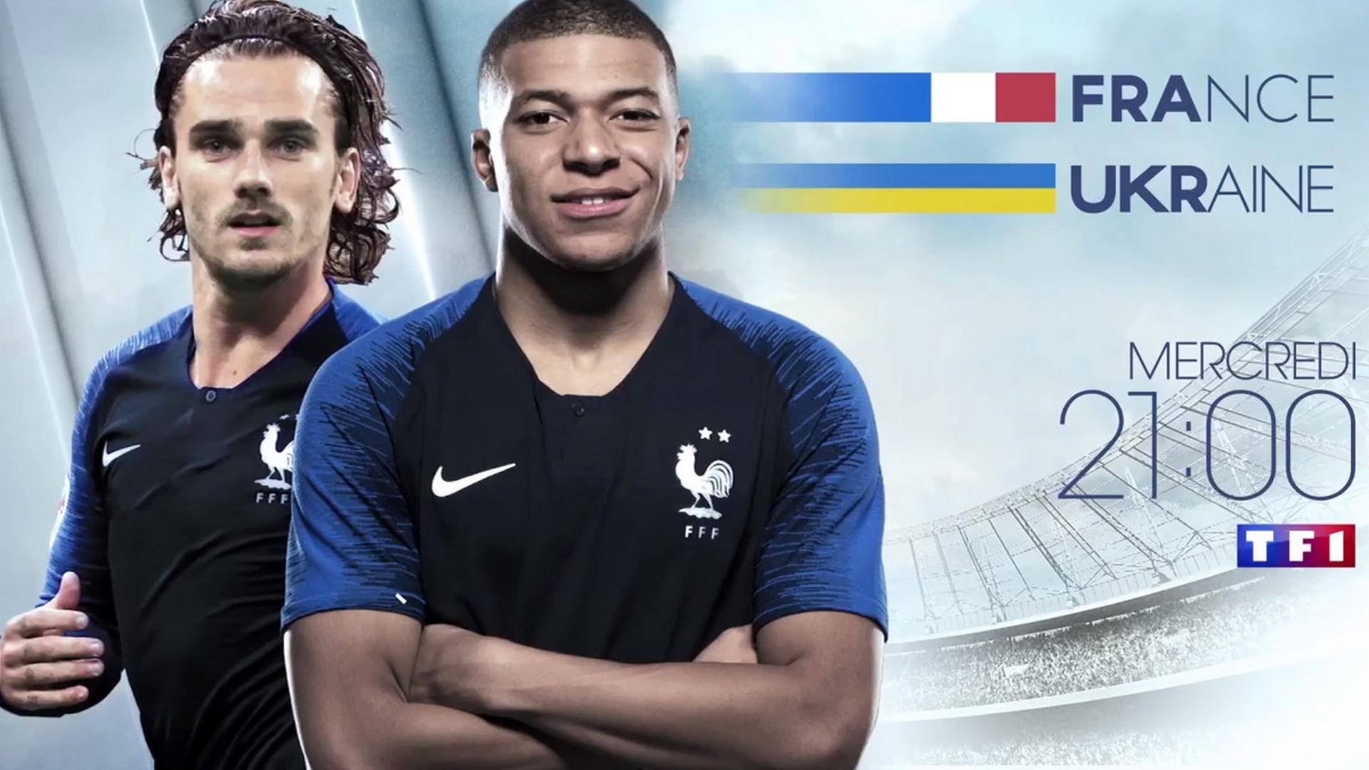 TF1 Football – France Ukraine 2021
