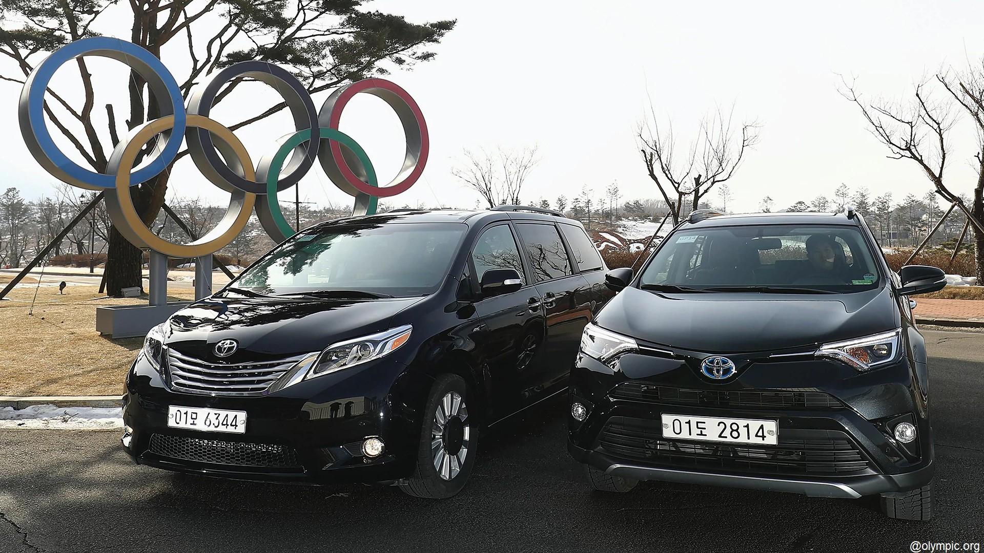 Toyota x Jeux olympiques 2018