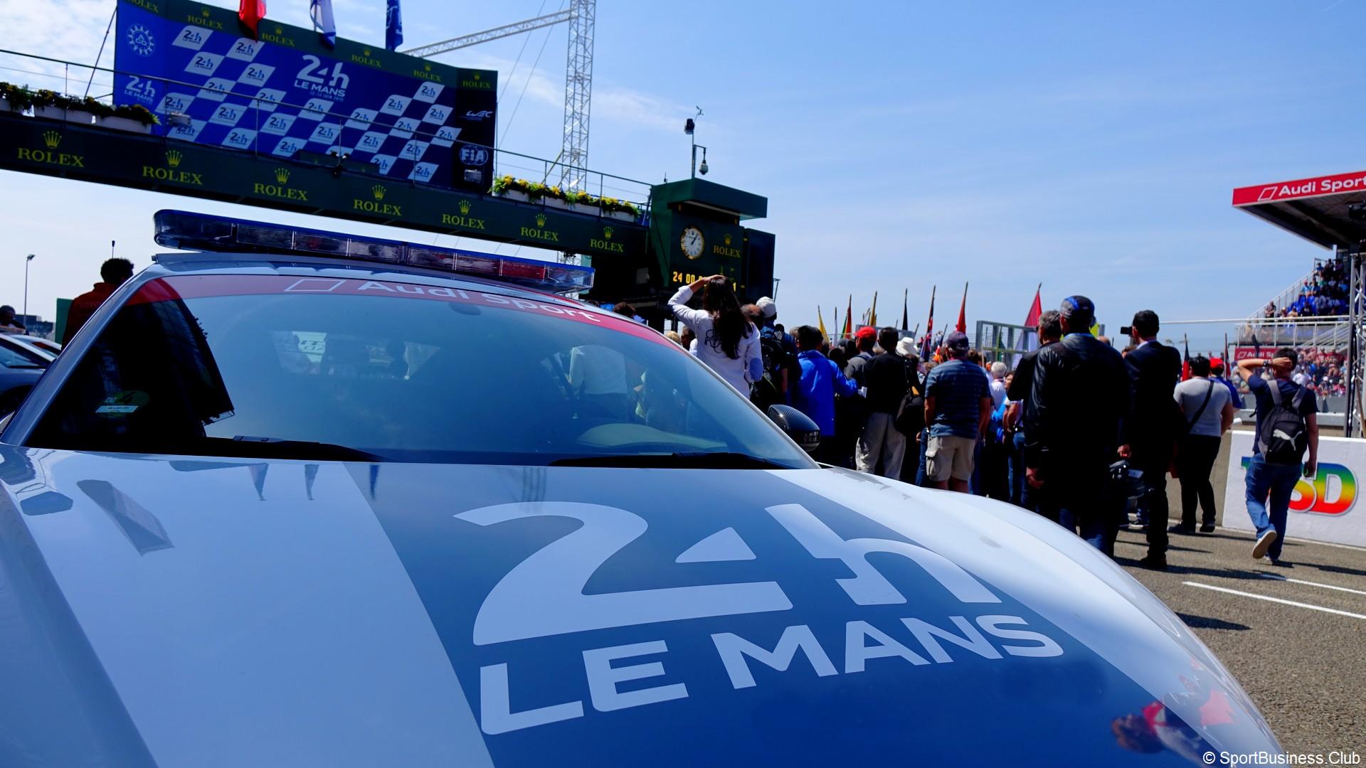 24 Heures du Mans (1) Logo voiture