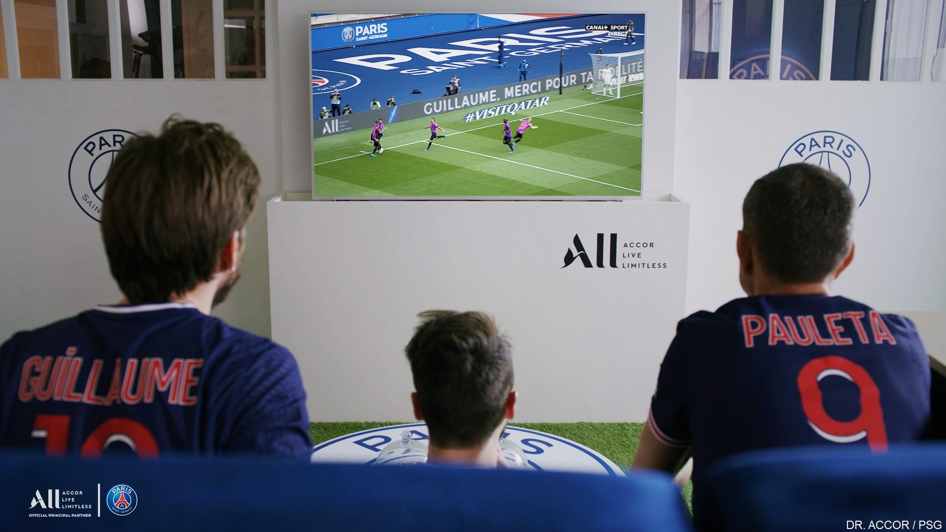 Accor ALL x PSG (football) Opé Parc des Princes 2021
