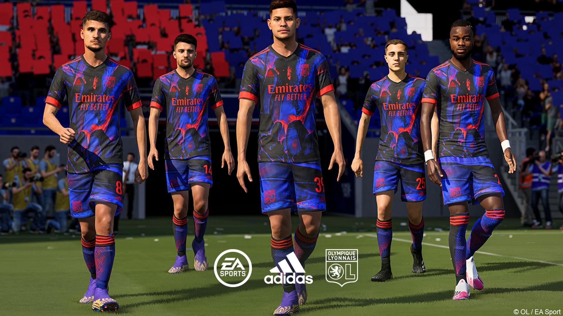 Adidas OL x EA Sport FIFA (football) maillot 2021