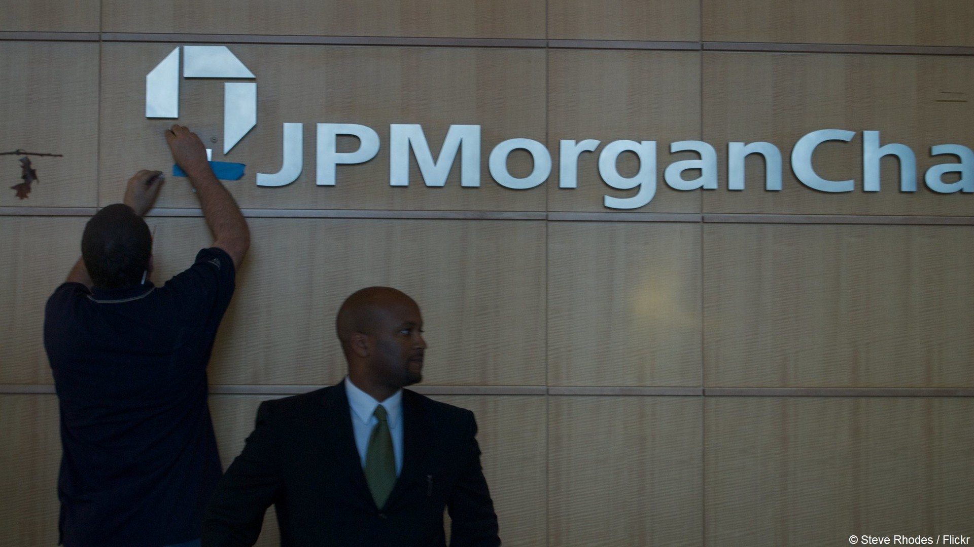 Banque JP Morgan (1) Logo (c) Steve Rhodes