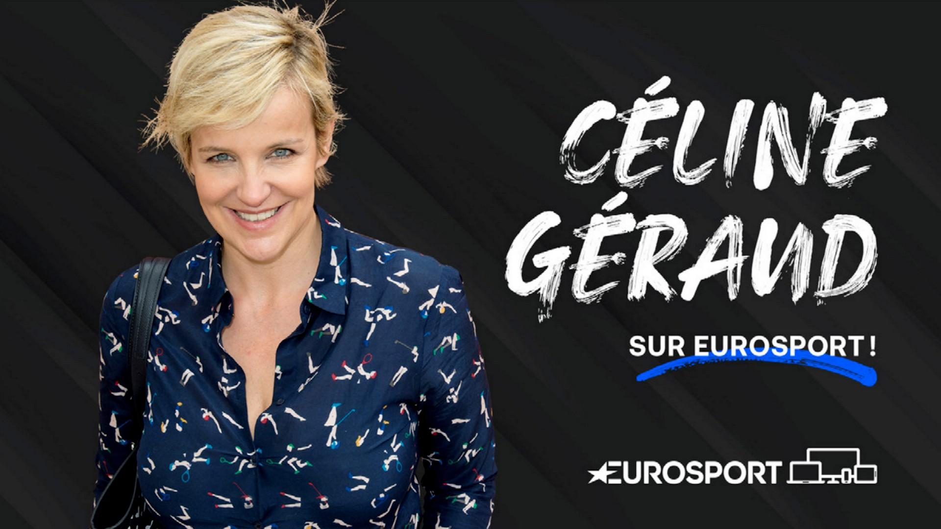 Céline Géraud x Eurosport (télé) 2021